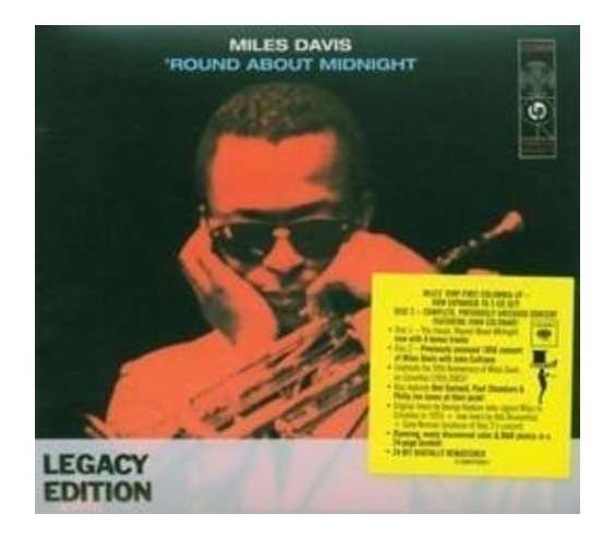 Davis Miles Round About Midnight Cd X 2 Nuevo