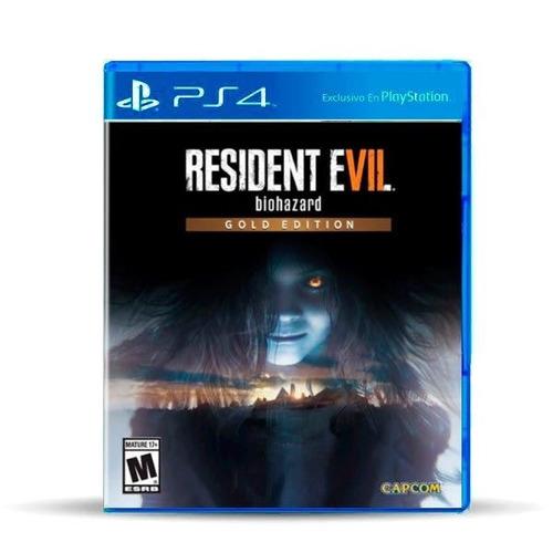 Resident Evil 7 Biohazard Gold Ed Ps4 Físico, Macrotec