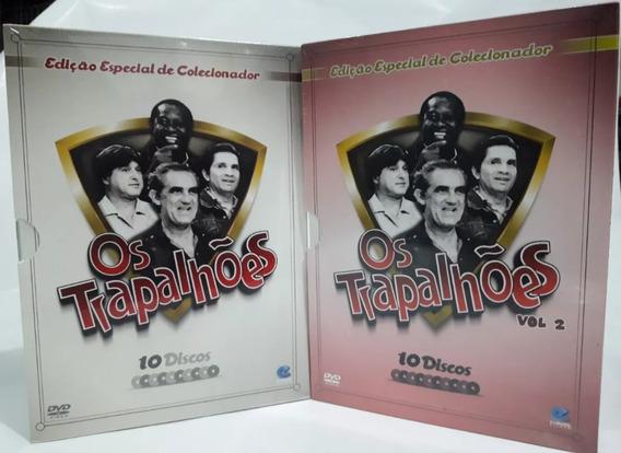Box : Os Trapalhões - 2 Volumes - Coleção Original 20 Filmes
