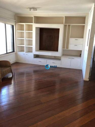 Imagem 1 de 19 de Apartamento Com 3 Dormitórios À Venda, 122 M² - Real Parque - São Paulo/sp - Ap8575