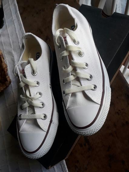 Zapatillas Converse Blancas 35 Nuevas