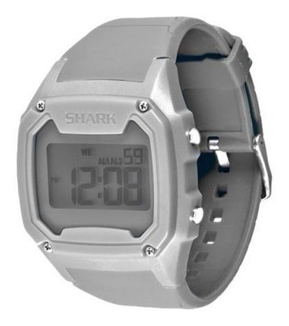 Relógio Killer Shark Silicone Freestyle Cinza H2o Importado