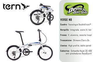 Bicicleta Plegable Tern Verge N8