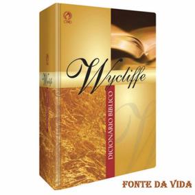 Dicionário Bíblico Wicliffe - Cpad