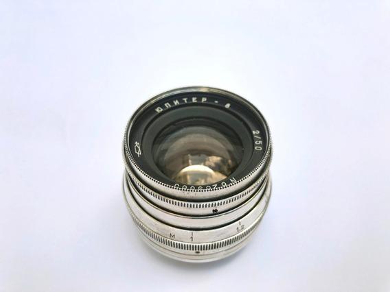 Jupiter 8 50mm F 2.0 M39 Rangefinder - Ótimo Estado