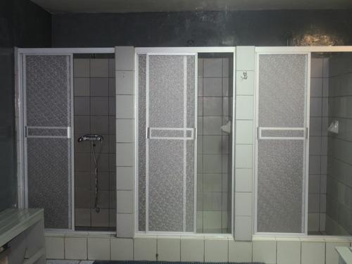 Puertas De Ducha En Acrílico Y Vidrio Templado,desds/.340.00