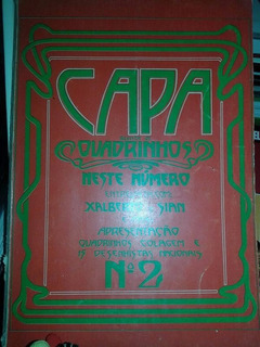 Capa Revista De Quadrinhos Nº 02 Fanzine Nacional Hq Charge