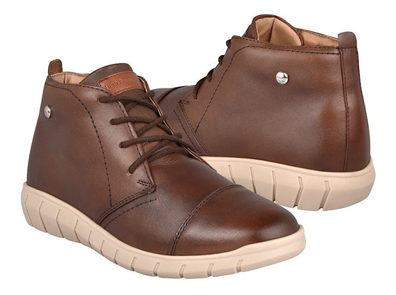 Botines Casuales Para Dama Hush Puppies Hp00840 Café