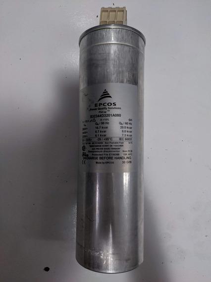 Capacitor Correção Fator Potência Trifásico 230v-380v 20kvar