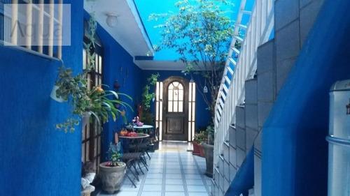 Casa Para Venda Em Santo André, Vila Camilopolis, 3 Dormitórios, 1 Suíte, 3 Banheiros, 3 Vagas - Sa126sa_2-1013804