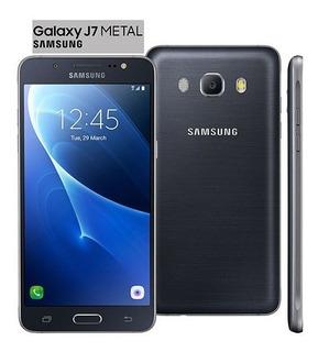 Smartphone Samsung Galaxy J7 Metal 2016 Novo E Lacrado