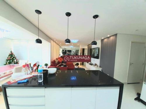 Apartamento Com 3 Dormitórios À Venda, 115 M² Por R$ 990.000 - Vila Santana - Mogi Das Cruzes/sp - Ap4913