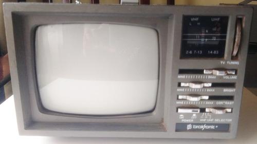 Antiga Tv Portátil 5 , Radio Am Fm Broksonic, Ver Descritivo