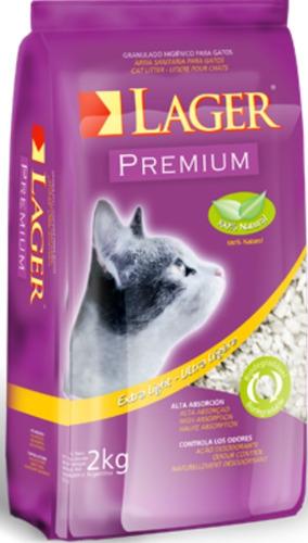 Piedras Sanitarias Lager Para Gato 12kg