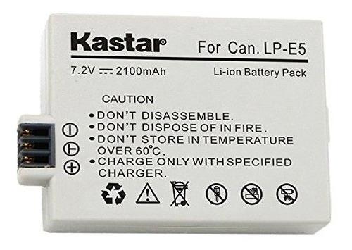 Batería De Ión Litio De Repuesto De Alta Capacidad Lp-e5