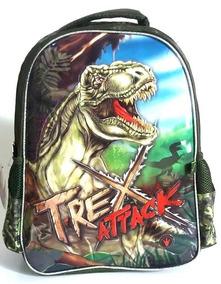 Mochila Infantil Dinossauro Rex Trex Attack Costas G Clio