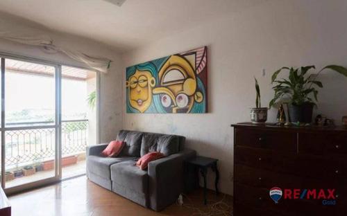 Imagem 1 de 23 de Apartamento Com 2 Dormitórios À Venda, 65 M² Por R$ 410.000,00 - Jaguaré - São Paulo/sp - Ap34626