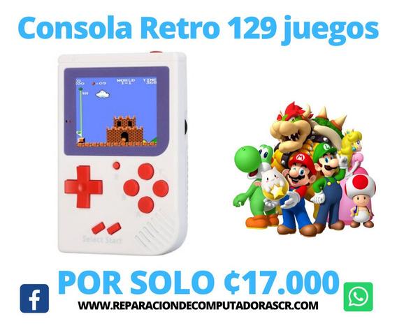 Consola Retro Con 129 Juegos