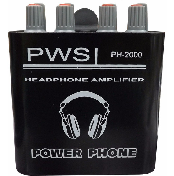 Amplificador Power Play Ph2000 Para Fone De Ouvido In Ear
