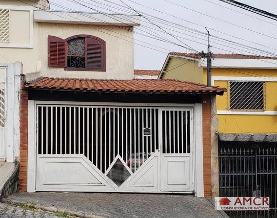 Sobrado Residencial À Venda, Vila Esperança, São Paulo. - So0576