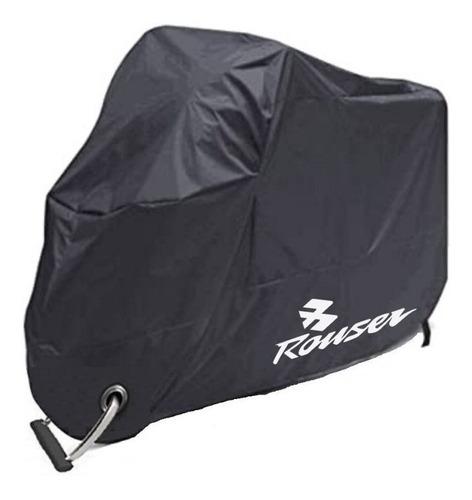 Imagen 1 de 8 de Cobertor Impermeable Para Moto Rouser O Dominar Con Baul