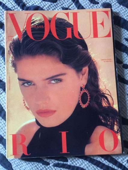 Revista Vogue Ano 86 Capa Vanessa De Oliveira Rio D Janeiro