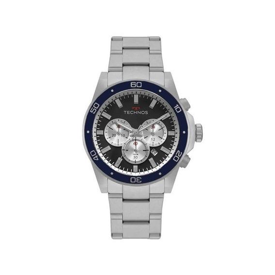 Relógio Technos Masculino Skymaster Prata Js25by/1p