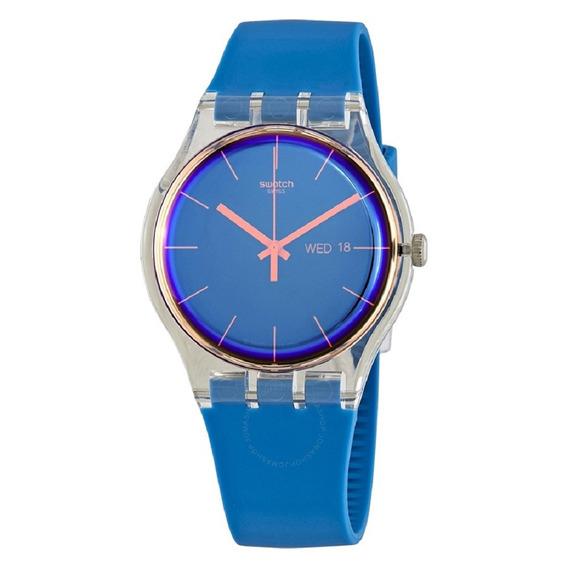 Relógio Swatch Polablue Suok711