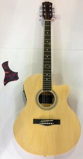 Guitarra Electroacustica Vitale Tipo Folk Envio Gratis