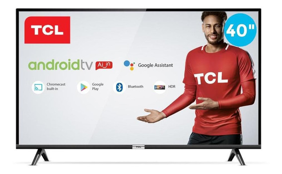 Smart Tv 40 Tcl Led Fhd 40s6500 Android 2 Hdmi 1 Usb