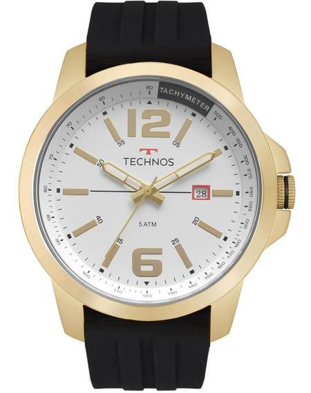 Relógio Masculino Technos Analógico 2115mro/8p Borracha
