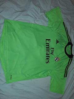 Camiseta Alternativa Verde Ca Real Madrid 2013 T Xl Origi