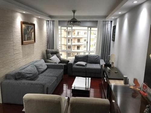 Apartamento Com 3 Dormitórios À Venda, 114 M² Por R$ 715.000,00 - Santana (zona Norte) - São Paulo/sp - Ap10120