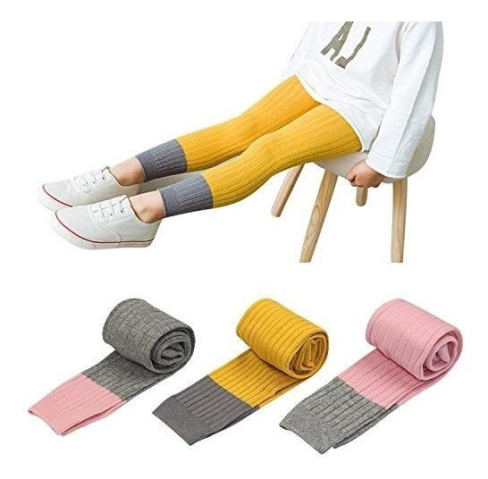 Booph 3 Pack De Bebes Ninas Legging Pant Footless Footless T