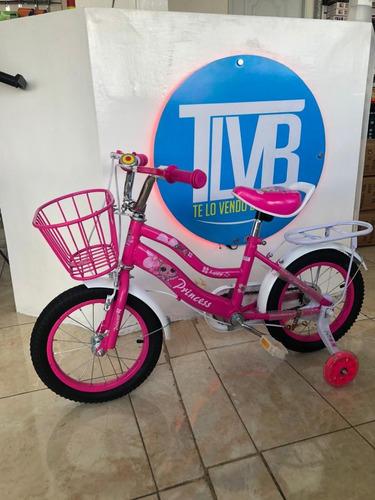 Bicicleta Niña Aro 14 Y 16