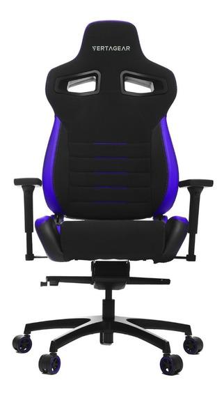 Silla Gamer Vertagear Pl4500 Negra Con Purpura