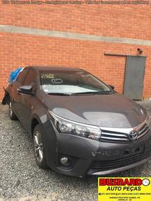 Sucata P/ Retirada De Peças Toyota Corolla Xei 2.0 Flex 2015