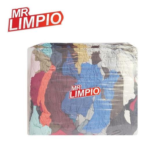 Mr. Limpio - Trapo Color Algodón Pqte. De 10 Kilos