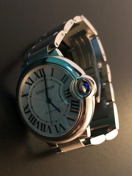 Relógio Cartier Feminino Ballon Bleu 36 Mm