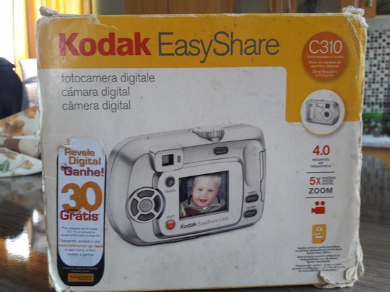 Kodak Easy Share C310 4.0 Funciona A Pilha .