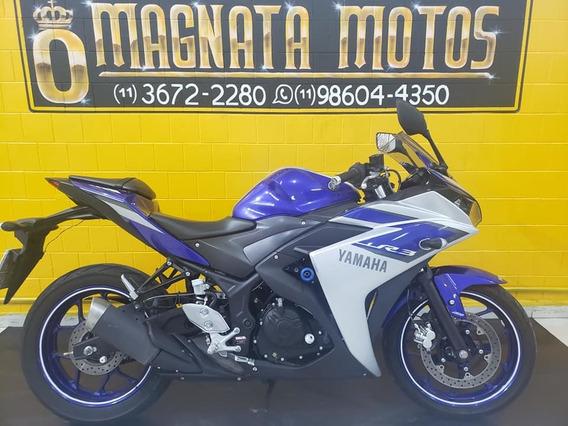 Yamaha Yzf R3 - 2016 - Azul - Km 17.000