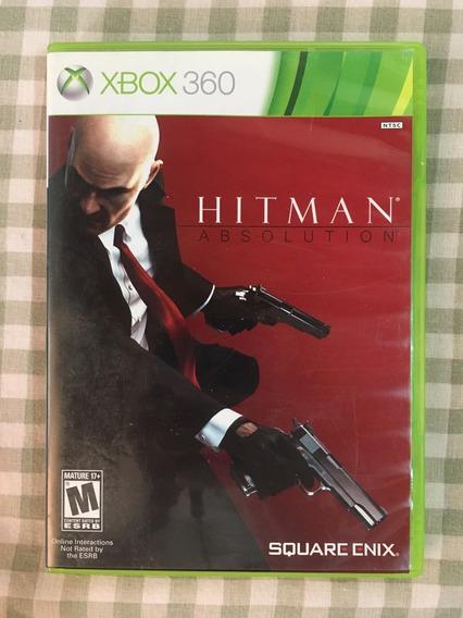 Hitman Absolution Xbox360 Semi-novo Retrocompatível Xbox One