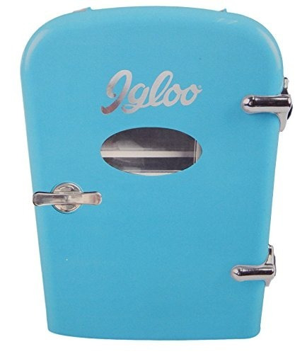 Curtis Mini Compact Refrigerator (azul)