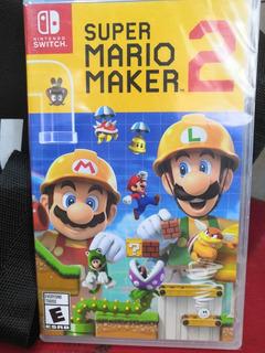 ¡¡ Super Mario Maker 2 Para Switch En Whole Games !!