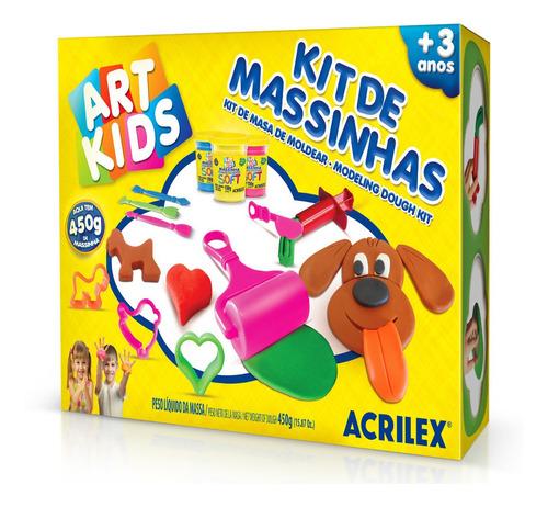 Kit 4 De Masas Acrilex