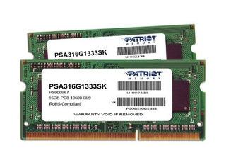 Patriot Series 16gb De Apple Mac Kit Sodimm (2x8gb) Ddr3 Pc3