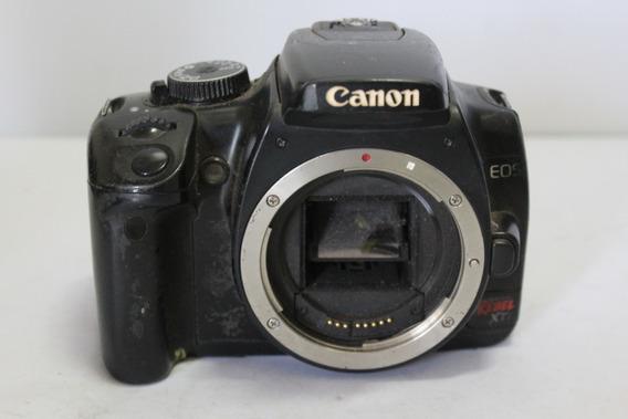 Câmera Digital Dslr Canon Rebel Xti Sucata Retirada De Peças