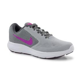 ecfff467ee6 Tênis Nike Wmns Revolution 3 Cinza Violeta - 819303-009