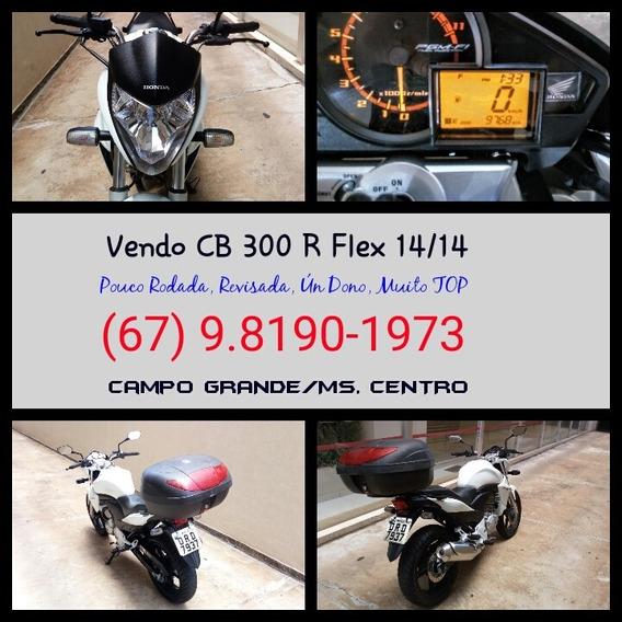 C B 300 R Flex 2014. A Mais Nova De Campo Grande!