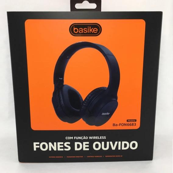 Fone Bluetooth Basike - Fon6683 - Top Alta Qualidade